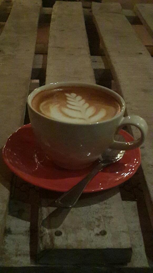 secangkir cappuccino di Cultivar