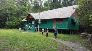 museum orang utan a.k.a information center di camp leakey