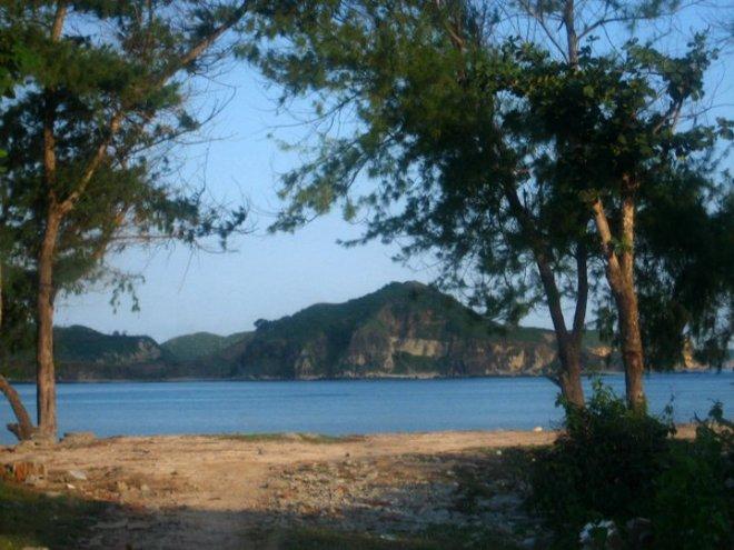 Tanjung Aan sebelum naik bukit